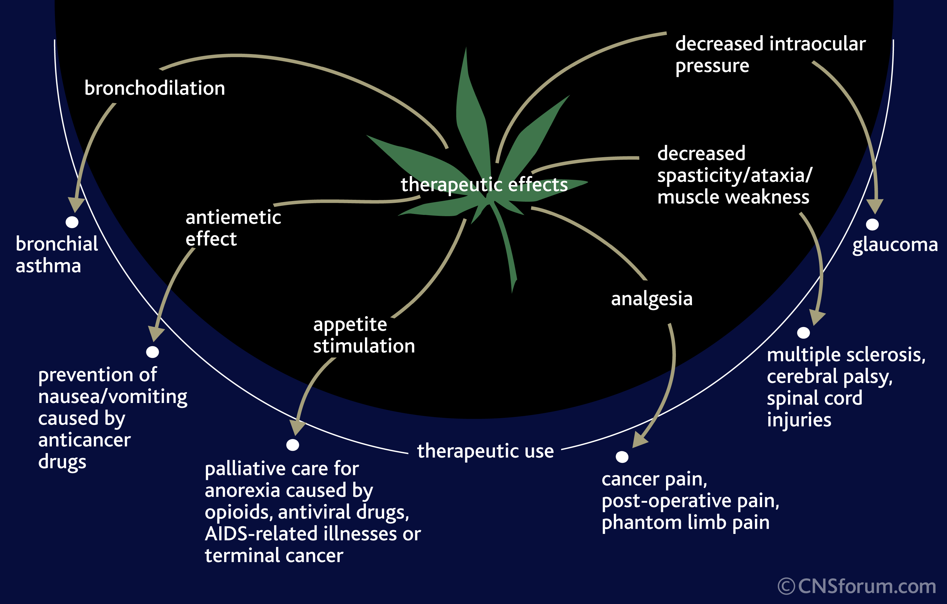 CANNABINOIDS FOR THERAPEUTIC PURPOSES