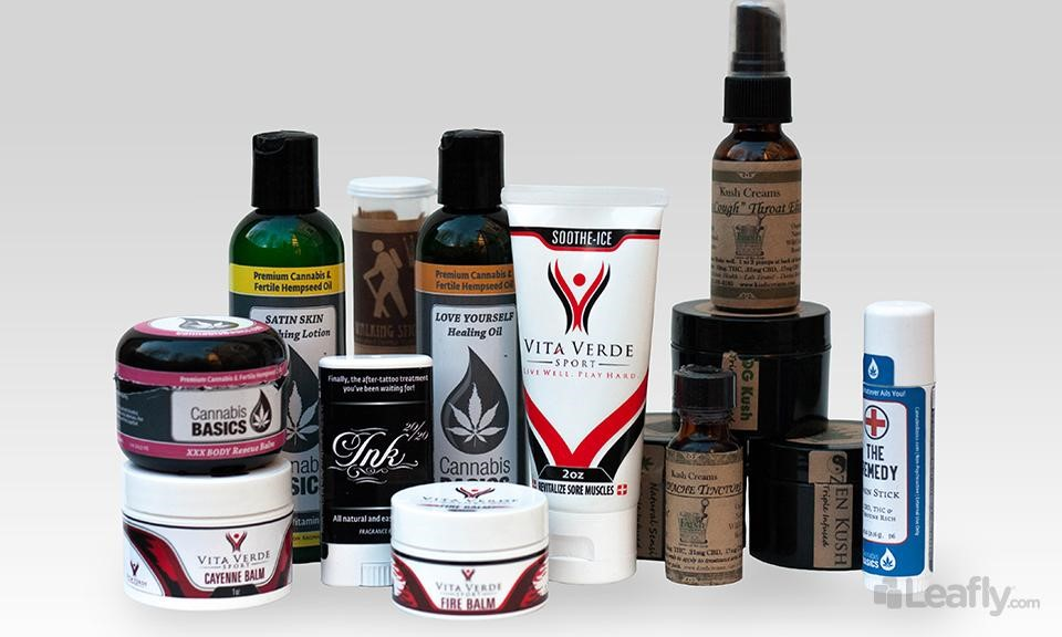 Top Topicals: 11 Cannabis Infused Lotions and Potions to Soothe the Skin